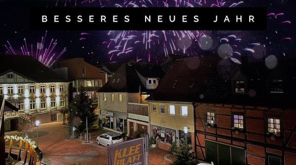 Ein spannendes neues Jahr mit hoffentlich viel Gesundheit und tollen Reisen wünscht das KLEEBLATT Team
